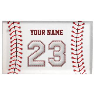 Spieler Nr. 23 - coole Baseball-Stiche