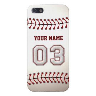 Spieler Nr. 3 - coole Baseball-Stiche iPhone 5 Schutzhüllen
