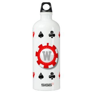 Spielers Aluminiumwasserflasche
