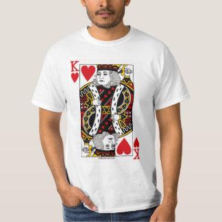 Spielkarte König-Of Hearts T-Shirt