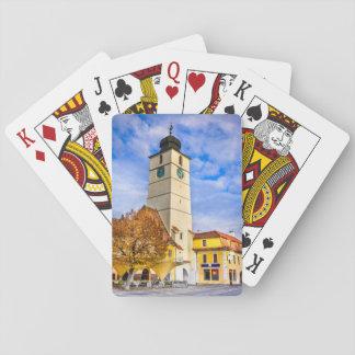 Spielkarte Sibiu Rumänien