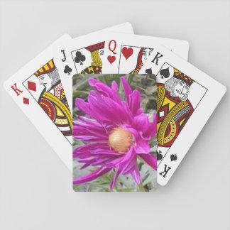 Spielkarten 2 der Dahlie