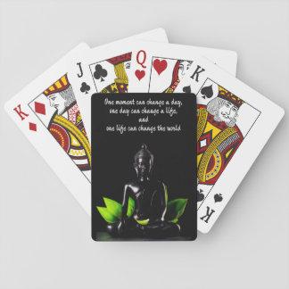 Spielkarten Buddha-Zitats 2