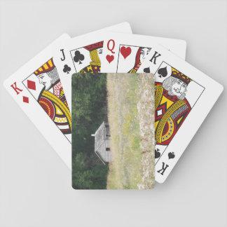 Spielkarten der Kabine