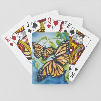 Spielkarten der Monarchfalter