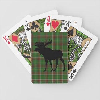 Spielkarten der NeufundlandTartanelche