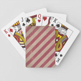 Spielkarten der roten