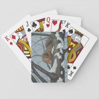Spielkarten des Eichhörnchens