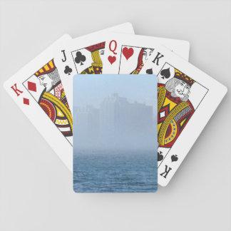 Spielkarten des Halifax-Hafen-Stadtbilds