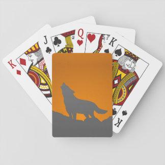 Spielkarten des Heulenwolfs