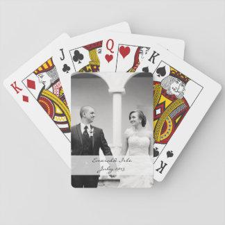 Spielkarten des kundenspezifischen Fotos -