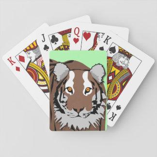 Spielkarten des Tigers