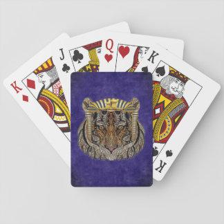 Spielkarten - Faro-Tiger
