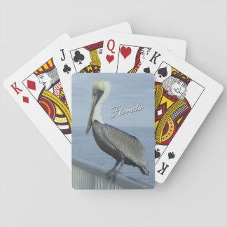 Spielkarten Florida-Pelikans