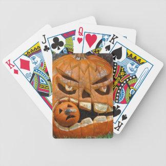 Spielkarten Halloweens