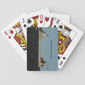 Spielkarten Herausforderers St. Marys