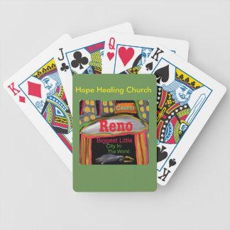 Spielkarten Hoffnungs-heilende KircheReno Nevada