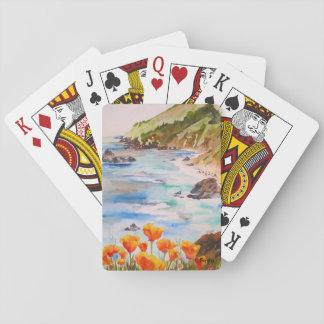 Spielkarten Kalifornien-Mohnblumen