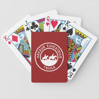 Spielkarten mit Logo