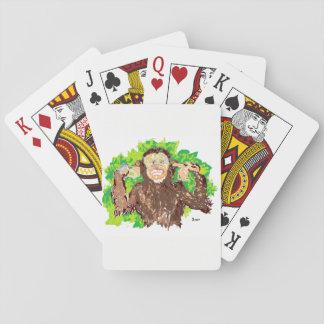Spielkarten /Monkey