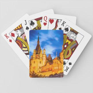Spielkarten Peles Schloss Sinaia