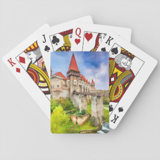 Spielkarten, Standardindex stellt Corvin Schloss Spielkarten