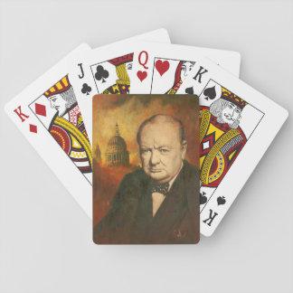 Spielkarten Winston Churchill