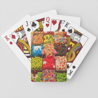 Spielkarteplattform des Geschäftes der bunten Spielkarten