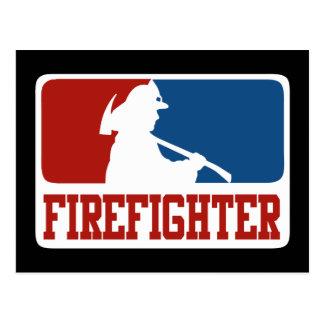 Spielklasse-Feuerwehrmann Postkarte
