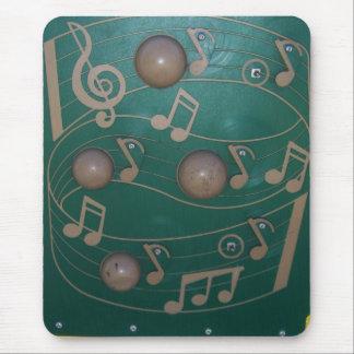 Spielplatz-musikalische Anmerkungs-Brett Mauspads