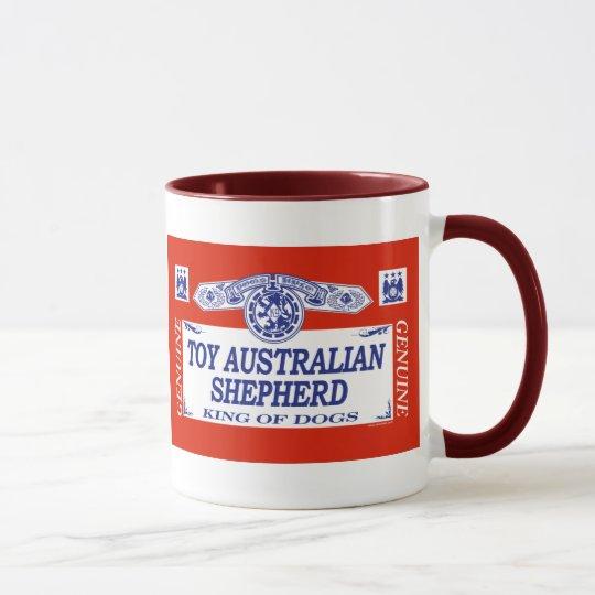 Spielzeug-Australier-Schäfer Tasse