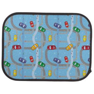 Spielzeug-Auto-Bahn-Rückseiten-Auto-Matte Automatte