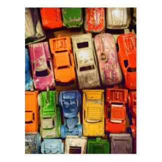 Spielzeug-AutoJunkyard Postkarte