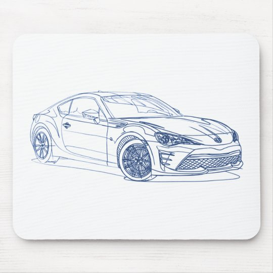 Spielzeug GT86 2017 Mousepad