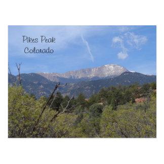 Spiesse HöchstColorado Springs Postkarte
