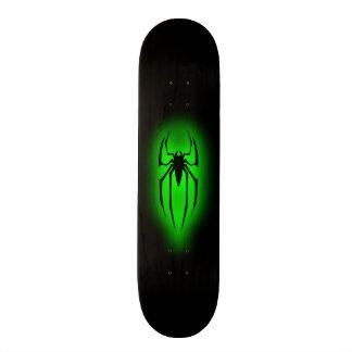 Spinne - Grün Individuelle Skatedecks