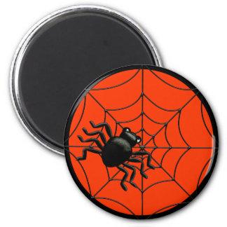Spinne Halloween Runder Magnet 5,7 Cm