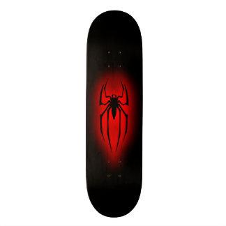 Spinne - Rot Personalisierte Skateboards