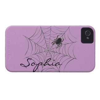 Spinne und Netz iPhone 4 Hülle