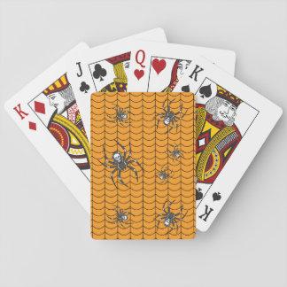 Spinnen auf Parade-klassischen Spielkarten