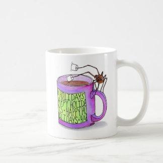 Spinnen-eintauchende Eibisch-Tasse Kaffeetasse