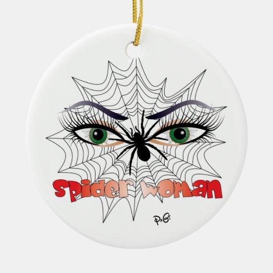Spinnen - Frau / Ornament