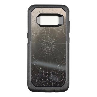 Spinnen-Netz mit Morgen-Tau OtterBox Commuter Samsung Galaxy S8 Hülle