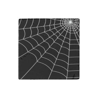 Spinnen-Netz Stein-Magnet