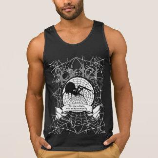 Spinnen-Trägershirt Tank Top