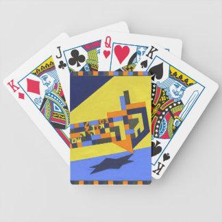 Spinnende dreidel Spielkarten