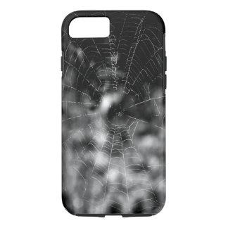 Spinnennetze machen unwiderstehliche Formen iPhone 8/7 Hülle