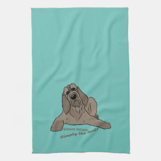 Spinone Italiano – Simply the best! Handtuch