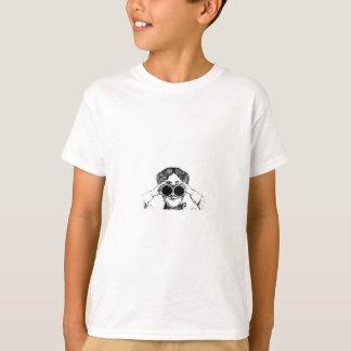 Spionsmädchenbild T-Shirt