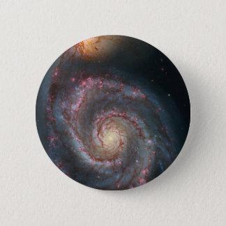 Spiralarm die NASA des Strudel-M51 Runder Button 5,1 Cm